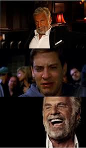 Meme Generator Dos Equis - dos equis guy crying toby meme generator imgflip