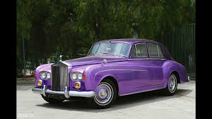 purple rolls royce rolls royce silver cloud iii