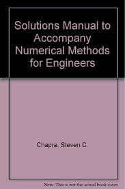 numerical methods for engineers solutions manual steven c chapra