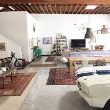 garage living space cohabitating with cars an awesome la garage and living space