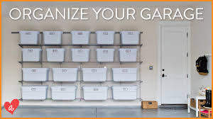 Organzie by How To Organize Your Garage Cut The Clutter Ft Thedefrancofam