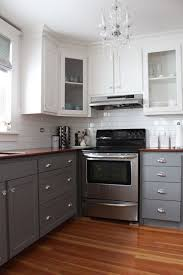 Two Color Kitchen Cabinets 152 Best Light Neutral Kitchens Images On Pinterest Gray