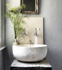 modern powder room sinks statement making powder room sinks atticmag