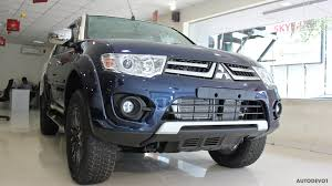 mitsubishi triton 2012 interior mitsubishi pajero sport limited edition interior and exterior
