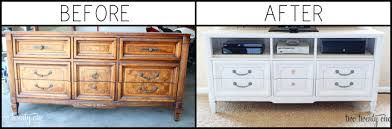 Tv Stand Dresser For Bedroom Tv Dresser Stand Amazing Turned Tv Makeover 14 Converting A Into
