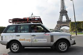 land rover london london to jammu with a range rover team bhp