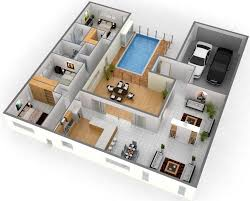 house plans with swimming pools 1500 sq ft house plans with swimming pool 3d images