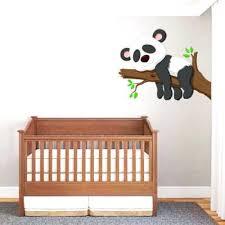 stickers décoration chambre bébé stickers deco chambre bebe sticker panda pour chambre bacbac
