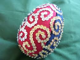Sequined Egg Eggs Pinterest Doodle Patterns Craft And Patterns