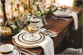 Gold Table Setting by Amazing Thanksgiving Dining Table Settings You U0027ll Love Www