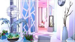 the sims 4 room build futuristic living youtube