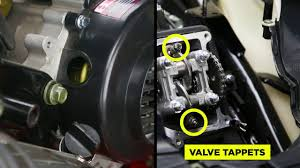 scooter valve adjustment youtube