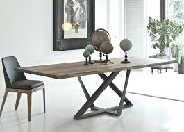 dining room table with leather chairs off set faux and