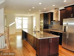 contemporary kitchen with kitchen island with seating u0026 simple