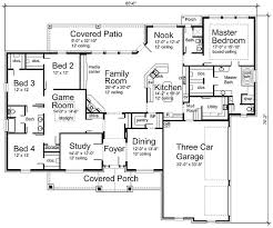 4 Bedroom Floor Plans For A House 176 Best House Plans Images On Pinterest House Floor Plans