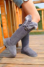 womens boots like uggs 2013 ugg fox fur boots ugg knee high boots fox fur
