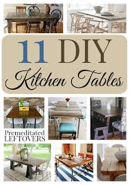 Design Your Own Kitchen Table 11 Striking Diy Kitchen Tables