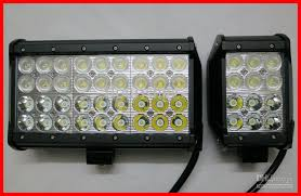 led security light bar 9 108w cree 36led 3w driving work light bar offroad suv atv 4wd 4x4