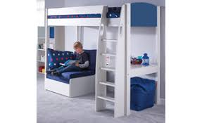 Midi Bed With Desk Stompa Uno S Beds From Room To Grow
