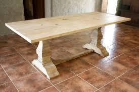 Restoration Hardware Tables Restoration Hardware Inspired Trestle Dining Table Build It