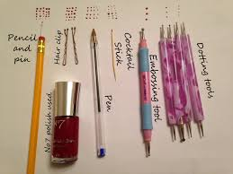 how to make a dotting tool the adventures of a nail artoholic