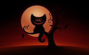 halloween desktops halloween cat wallpaper wallpapers browse