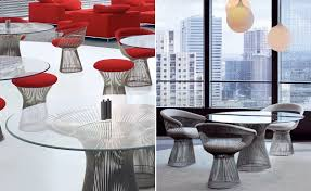 dining room futuristic dining furniture design with platner