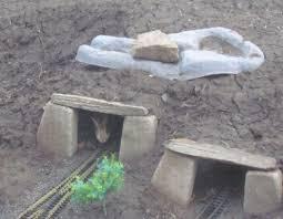garden train g scale bunny in the train tunnel g scale garden