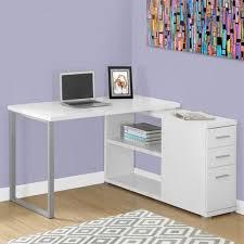 bureaux blancs un bureau informatique d angle quel bureau choisir pour votre