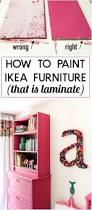 How To Lay Ikea Laminate Flooring Tricks To Painting Ikea Furniture What Not To Do Designer