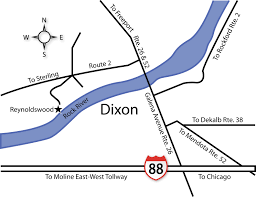 Dekalb Illinois Map by Contact Us