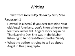 Paragraph About Thanksgiving Unit 2 Week Ppt Video Online Download