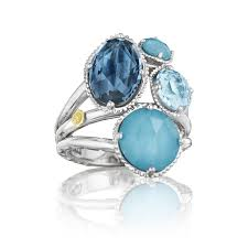 cluster rings island rains precious cluster ring sr143050233 women s jewelry