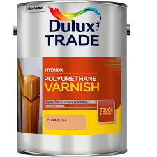 protective varnish for wood stained low voc dulux trade
