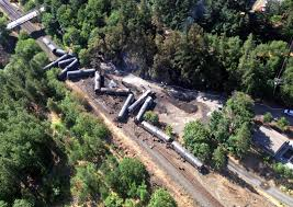 track faulted in oregon oil train wreck that took out town u0027s water
