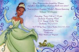 disney bridal shower invitations template best template collection