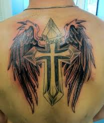 cross back tattoo designs page 4
