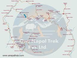 Nepal Map World by Nar Phu Valley Trek Nepal U2013 Itinerary Cost Permit A O N T