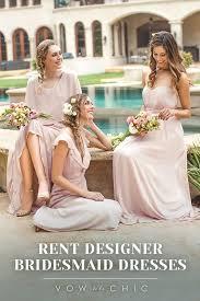 rent a bridesmaid dress best 25 designer bridesmaid dresses ideas on pink
