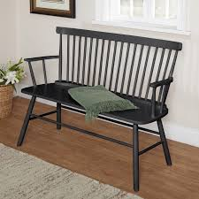 wood bench seat with back bench decoration