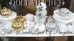diy dollar tree fall glam pumpkin wonderland decor diy glam