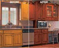 Kitchen Designs With Oak Cabinets by Glazing Kitchen Cabinets As Easy Makeover You Can Do On Your Own