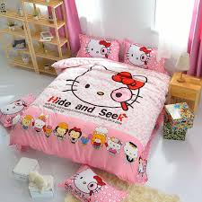 Hello Kitty Duvet Cartoon 3d Minions Bedding Set Despicable Me 2 Hello Kitty Bed