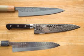 kitchen knife collection chefsteps