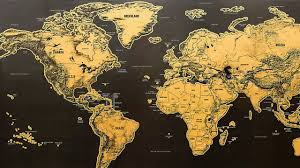 Scratch Off World Map Scratch Off Interactive World Map By Info Globes Youtube