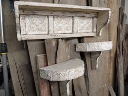 Shabby Chic Shelf Brackets by Antique Shelves For Wall Pennsgrovehistory Com