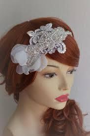 beaded headband ready to ship ivory beaded headband lace ivory petal he