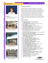 interior design resume exles interior designer resume format awesome bunch ideas of