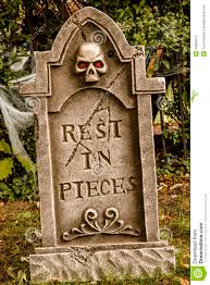 halloween skulls and decorations stock image image 45894277
