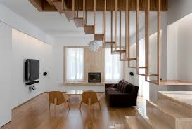 Hanging Stairs Design Private Residence